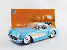 2006 CHEVROLET CORVETTE z06 Bleu Noir Chevy 1:24 Jada Toys 96804