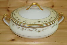 Haviland Yale Limoges Round Covered Vegetable Serving Bowl with Lid, 8""