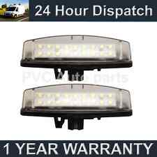 2X FOR TOYOTA PREVIA 2006 On 18 WHITE LED NUMBER PLATE LIGHT LAMPS 6500k