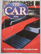THE CAR magazine No 6 featuring Ferrari Berlinetta Boxer cutaway drawing,Vanwall