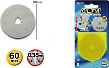 Olfa 60 Mm Rotary Cutter Cuchilla de repuesto (1pk)