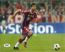 Xabi Alonso Olano Bayern Munich Signed Auto 8x10 PHOTO PSA/DNA COA