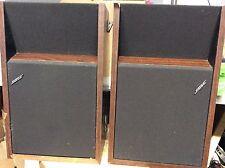 Bose Bookshelf Speakers 201 Series II 2 ~ Tested