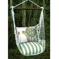 Sea Turtle Hammock Swing Chair Outdoor Beach Decor