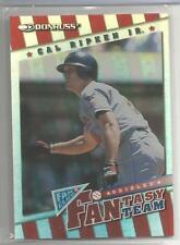 1998 Fan Club Baseball Cal Ripken Jr. Fantasy Team Insert Card # 897/2000 (CSC)