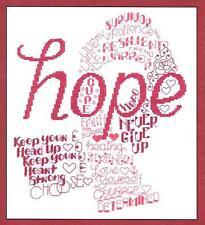 Let's Hope Cross Stitch Leaflet
