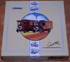 Corgi LMS Set AEC Cabover & Thornycroft Van 97754 New Old Stock