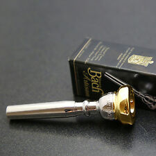 Genuine GOLD RIM & CUP NEW Bach Artisan Trumpet Mouthpiece, 1.5C #27 Throat