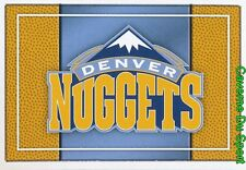 255 TEAM LOGO USA DENVER NUGGETS STICKER NBA BASKETBALL 2017 PANINI