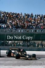 Mario Andretti JPS Lotus USA Grand Prix 1978 Photograph