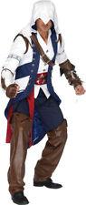 Morris Costumes New Men's Assassins Creed Connor Costume XL. UAAS85172XL