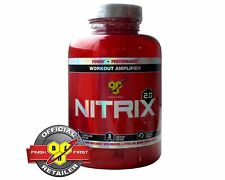 BSN NITRIX 2.0 180 MUSCULAR VOLUMIZER NITRIC OXIDE CREATINE FREE WORLDWIDE SHIP