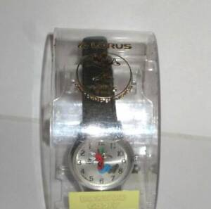 Vintage Disney Lorus Quartz Goofy Backwards Watch needs battery