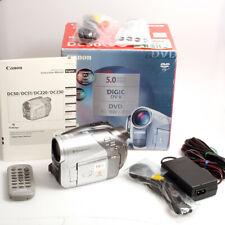 Canon DVD Camcorder DC50 5 Megapixel DiGiC DV II DVD -R / -RW / -RDL