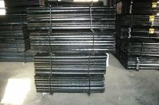 2400mm Australia Black Star Picket / y Post / black ultrapost  $8.30 each