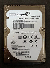 "Seagate 7200 RPM HDD 7200.4 ST9250410AS 250GB SATA 2.5"" Laptop Hard Drive"