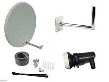 90CM Satellite Dish With Wall Mount & Single LNB/ Installation Kit