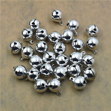 6~25mm Copper Jingle Bell Dangle Charms Pendant Pet Bell Jewelry Making DIY