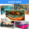 UK Pet Cat Dog Bed Puppy Cushion Soft Warm House Kennel Mat Blanket Washable mat