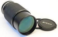 Nikon zoom 70-210mm F4 AI-S series E lens stock No. U6082