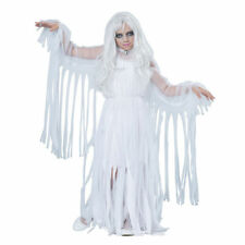 Girls Ghostly Girl Bride Childs Halloween Costume Large (10-12) NEW
