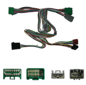 FOR VOLVO XC90 PARROT BLUETOOTH ISO MUTE WIRING T HARNESS MUTE LEAD PLUG SOT-044