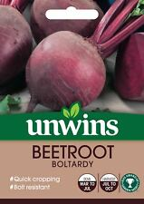 Unwins Pictorial Packet - Beetroot (Round) Boltardy - 300 Seeds