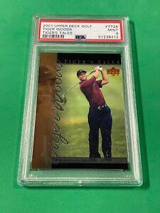 2001 Upper Deck Golf Tiger Woods #TT-28 Tiger's Tale RC PSA 9 MINT PGA CHAMPION!