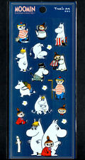 Moomin Stickers Sticker Sheet lot Kawaii  Look Rare Little My Snorkmaiden