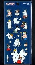 Moomin Stickers Sticker Sheet lot Kawaii  Look Rare Little My Snorkmaiden