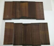 Wholesale Lot Of 10, Guitar Back & Side Tenor Ukulele Rosewood Luthier Tonewood