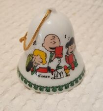 Merry Christmas Charlie Brown 1978 Peanuts Bell Ornament