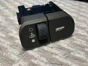 Saturn OEM L200 L300 trunk release dimmer switch black