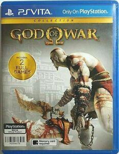 God of War (PS Vita) Zone 3 Asia/ English
