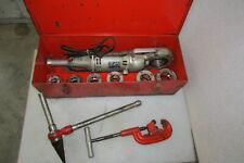 Ridgid No700 Pipe Threader Dies 12 To 2 Ridgid No 2a Cutter Spiral Reamer