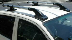 SHARK STYLE ROOF RAILS CROSS BARS SET FIT FOR NISSAN FRONTIER NP300 2015-UP