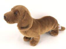 "Webkinz Signature 14"" Brown Dachsund Dog Plush Toy Rare No Code"