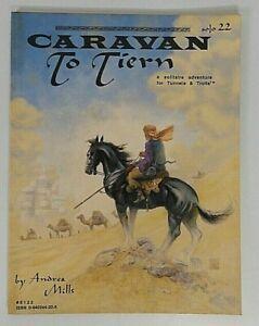 Tunnels and Trolls Solo Adventure Book 22 Caravan To Tiern 1989