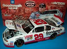 Kevin Harvick 2001 GM Goodwrench #29 Rookie of the Year 1/24 Rare Dealers NASCAR