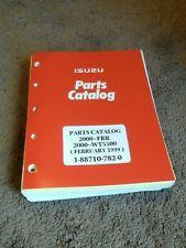 2000 Isuzu FRR FRR7MF GMC WT5500 Truck Illustrated Parts Catalog Manual DEALER