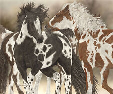 """Boys to Men"" Judy Larson Fine Art Giclee Canvas - Hidden Horses?"