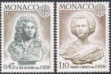 Mónaco 1974 Europa/J F comunità/artistas/Esculturas/Art/personas 2 V Set (n43013)