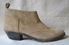 Golden Goose Light Brown Suede Ankle Boots Size 38 - US 8