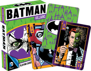 DC Comics BATMAN Villains playing cards brand new sealed