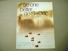 1971 Vintage Ski-Doo Snowmobiles Full Model Brochure
