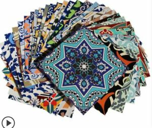 Wall Tile Stickers Moroccan Mosaic Style Self adhesive Tile Stickers pack of 10
