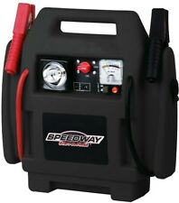 Emergency Car Jump Starter Compressor with Rechargeable Battery Built in Light