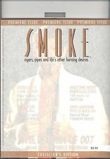 PREMIER ISSUE   SMOKE MAGAZINE  VOL1 NUMBER 1 HOLIDAY 1995 RARE  PIERCE BROSNAN