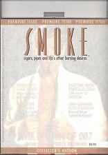 PREMIER ISSUE   SMOKE MAGAZINE  VOL1 NUMBER 1 HOLIDAY 1995 RARE  PIERCE BROSNAN