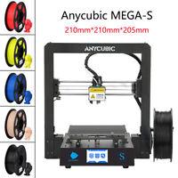 CA Stock Anycubic MEGA-S 3D Printer Upgrade High Precision + 10m PLA filament
